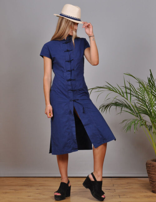 motel-vintage-store-kenzo-denim-dress