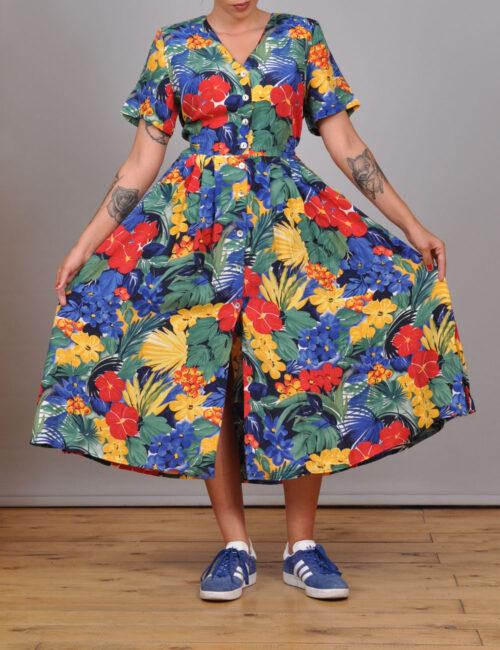 motel-vintage-store-floral-dress