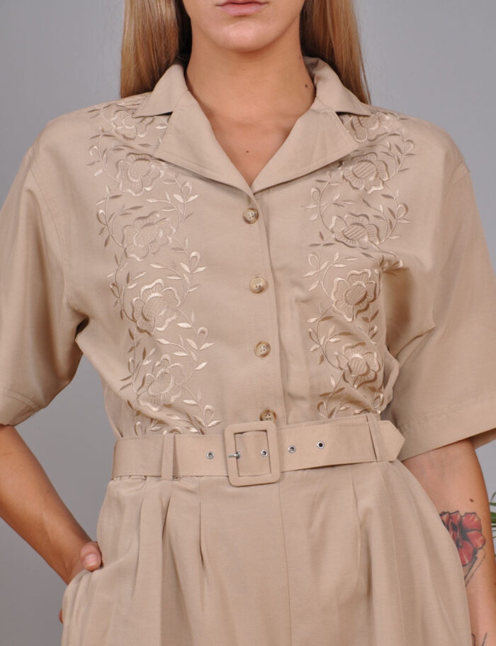 motel-vintage-store-Playsuit-With-Embroidery