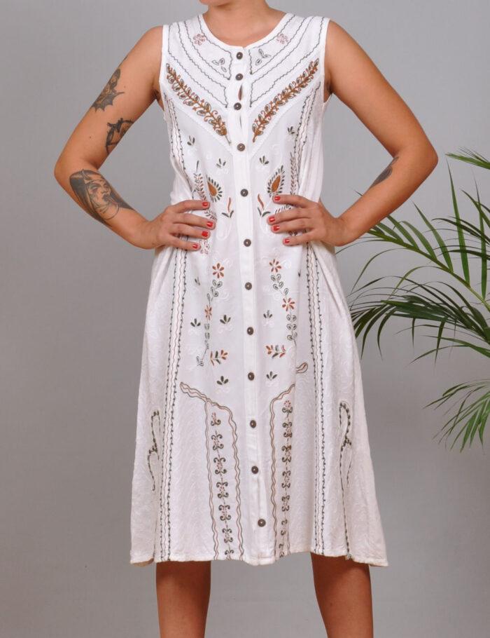 motel-vintage-store-Embroidered-Midi-Dress
